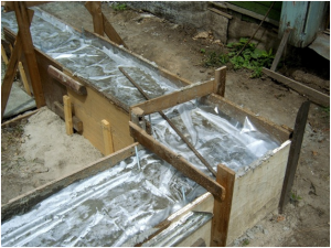 Уход за бетоном, распалубка