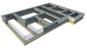 Размеры ленточного фундамента для каркасного дома