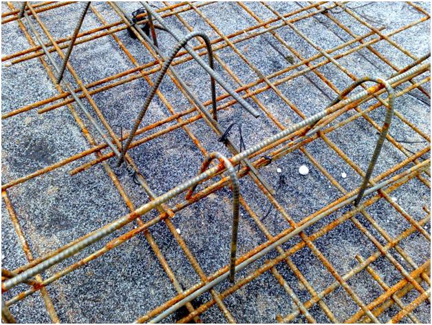 Как вязать сетку для плит