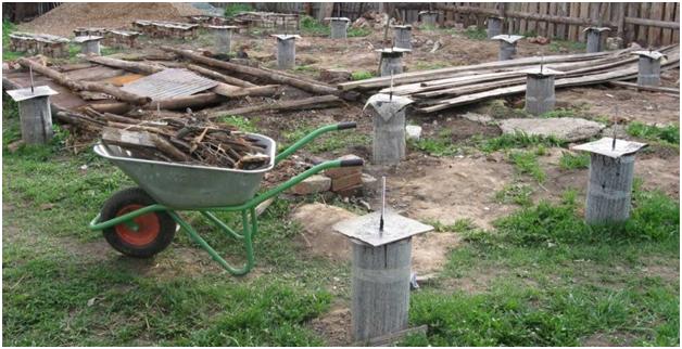 Гидроизоляция столбов