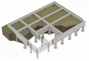 Фундамент свайно-ленточный
