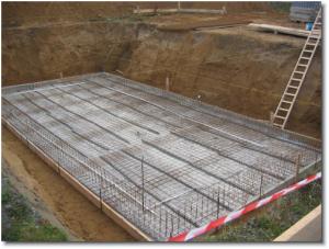 Фундамент заглубленная плита