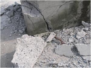 Разрушение фундаментов от сил пучения