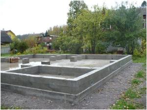 Фундамент чашеобразная фундаментная плита