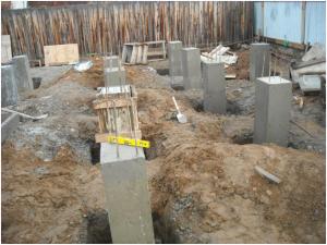 Фундамент для кирпичного дома
