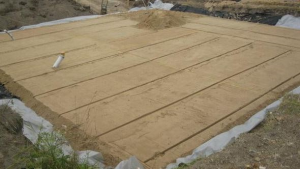 Песчаная подушка для фундамента под ключ