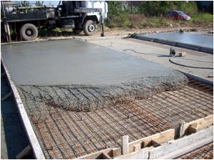 Заливка плитного фундамента для дома