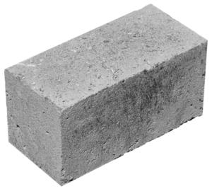 Блок стеновой бетонный полнотелый