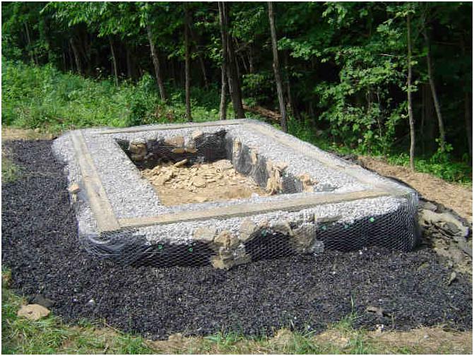 Фундамент из покрышек для гаража своими руками 38