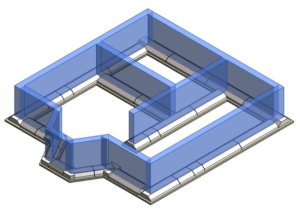 Схема укладки плит ФЛ