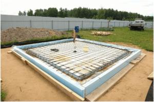 Утепленная шведская плита фундамент