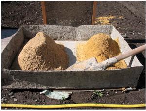 Речной и карьерный песок для бетона