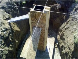Самодельная опалубка столбчатого фундамента