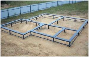 Технология ростверка из стальных балок