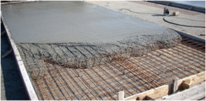 Заливка и затирка бетонного основания
