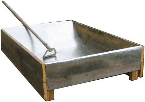 Как сделать ёмкость для бетона