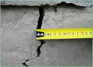 Измерение трещины